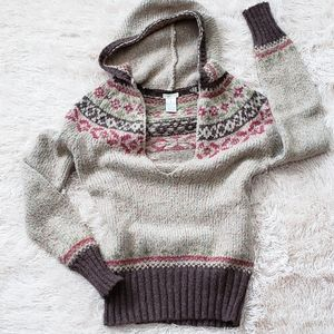 Maurices Sweater Hoodie, Perfect For Fall